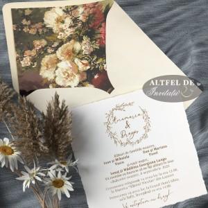 Invitatie nunta Roma