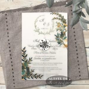 Invitatie nunta vise si dorinte