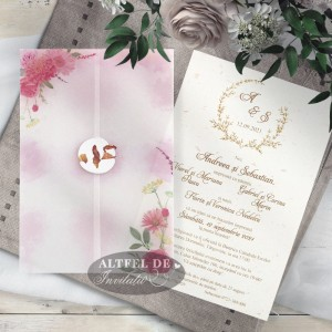 Invitatii nunta Vise si dorinte