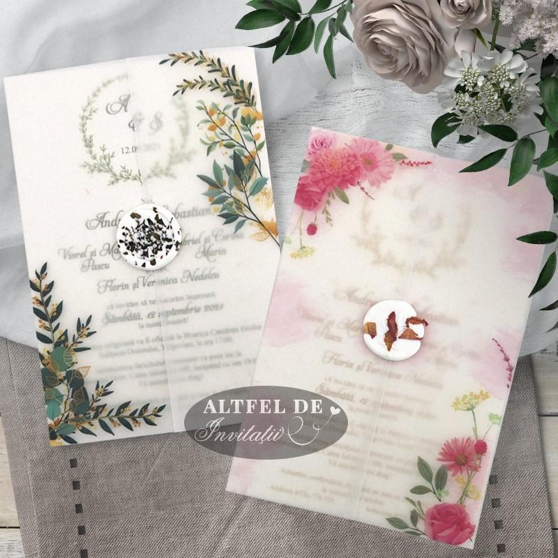 Invitatii de nunta Vise si Dorinte
