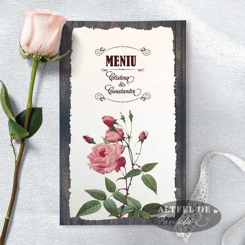 Meniu nunta Romantica