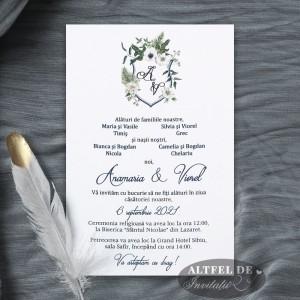Invitatia de nunta Colectie de zambete