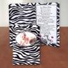 Invitatie botez Pui de zebra - cod: IB4