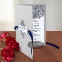Invitatii nunta Berlin argintiu