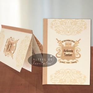 Invitatie nunta Poveste de dragoste
