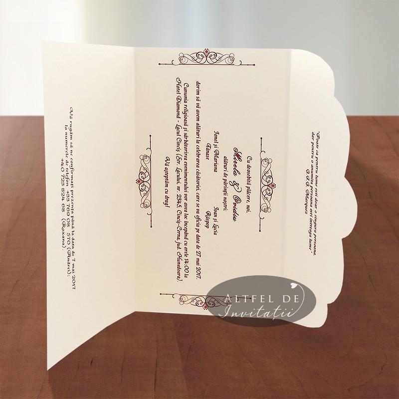 Invitatie nunta Veste buna