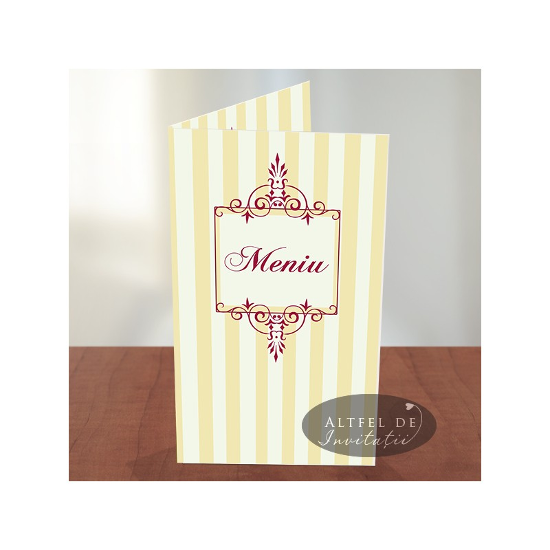 Meniu nunta Ciocolata cu zmeura crem fildes bordo visiniu