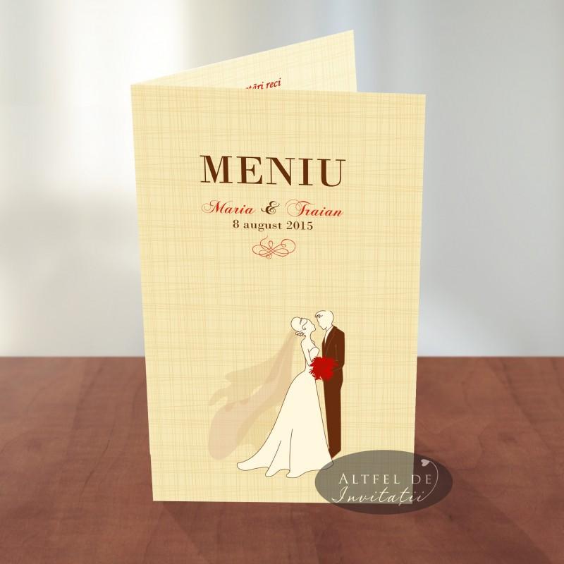 Meniu nunta Mire si mireasa AS2